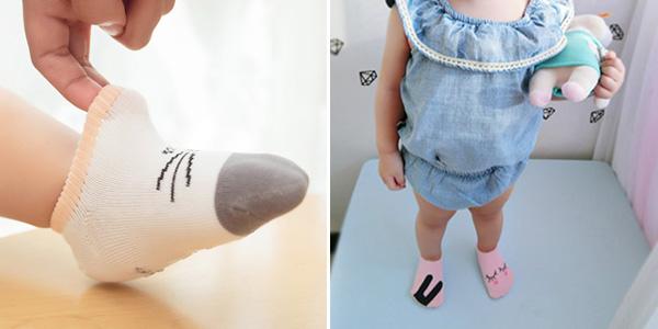 Calcetines para bebé con suela antideslizante en AliExpress