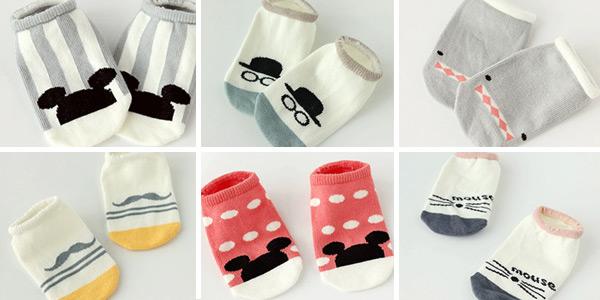 Calcetines para bebé con suela antideslizante baratos