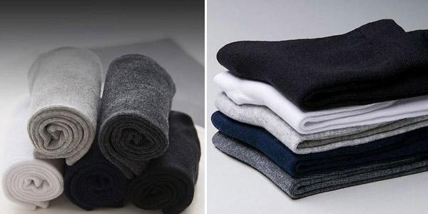 Pack x10 calcetines de algodón chollo en AliExpress