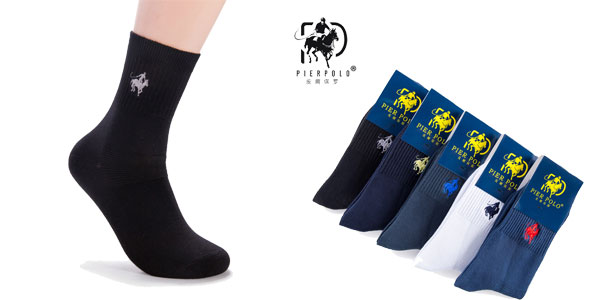 Pack 5 Calcetines Pier Polo baratos