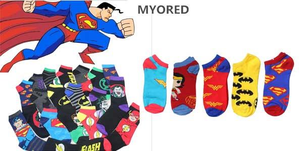 Calcetines tobilleros de superhéroes Myored chollo en AliExpress