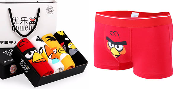 Calzoncillos bóxers Angry Birds