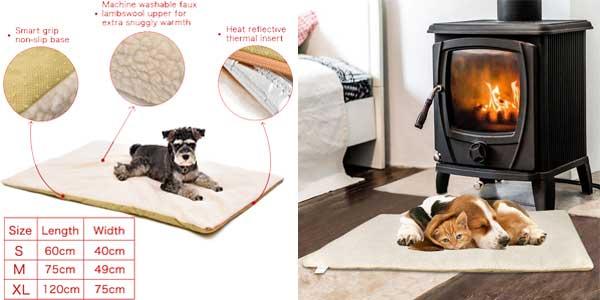Mantita - cama térmica para mascotas disponible en 3 tamaños chollo en AliExpress