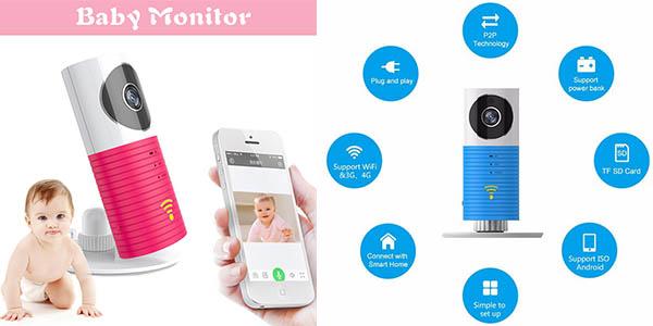 camara para bebes portatil con sensor movimiento y transferencia de datos por wifi al movil