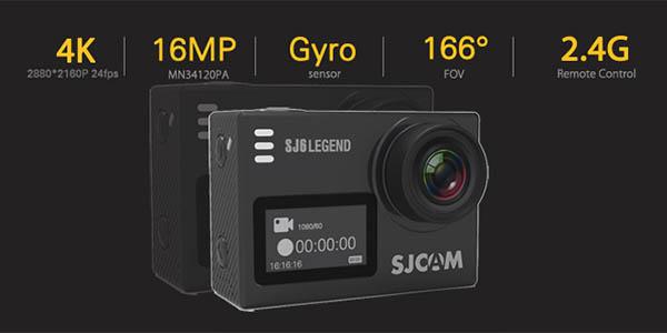 SJCAM SJ6 Legend con vídeo 4K