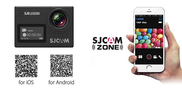 App móvil SJCAM SJ6 Legend