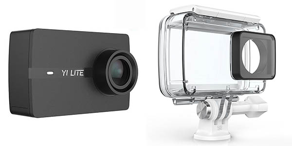 Cámara de acción Xiaomi Yi Lite + Carcasa sumergible
