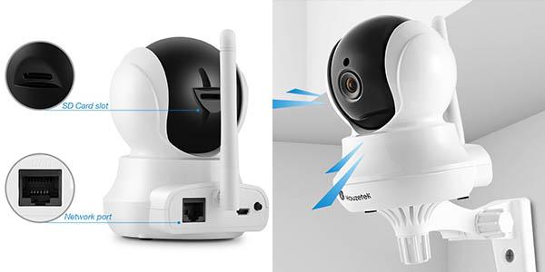 Cámara IP WiFi Houzetek con app móvil