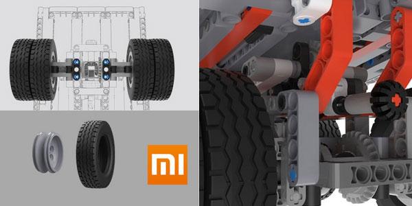 Camión Xiaomi Mitu Block Mining Truck chollazo en Tomtop