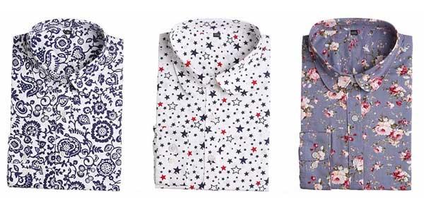 Camisa de manga larga para mujer barata