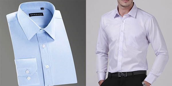 Camisa a rayas para hombre