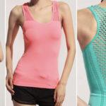 Camiseta de yoga de tirantes para mujer barata en AliExpress