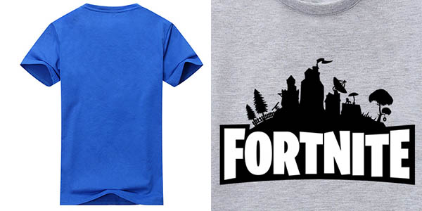Camiseta Fortnite de manga corta en varios colores