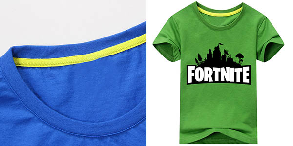 Camiseta Fortnite de manga corta barata