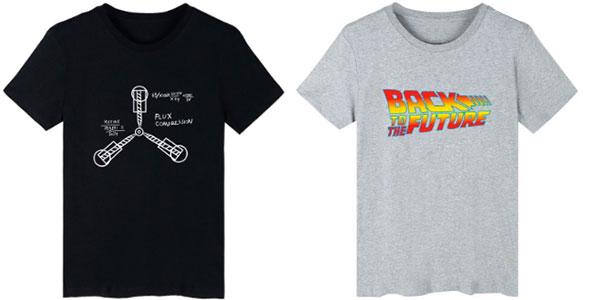 Camisetas de Regreso al Futuro en oferta