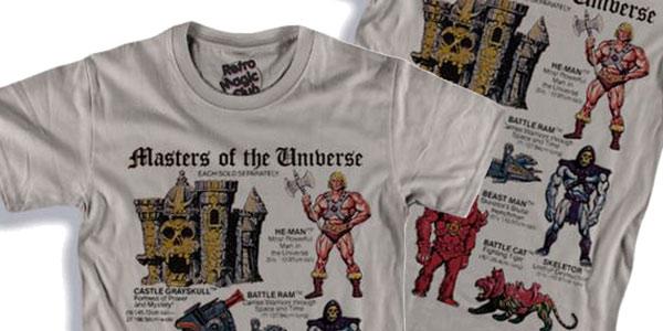 Camiseta de manga corta de He-Man (Masters of the Universe) barata en AliExpress