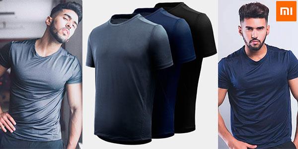Chollo Camiseta deportiva Xiaomi Giavnvay para hombre