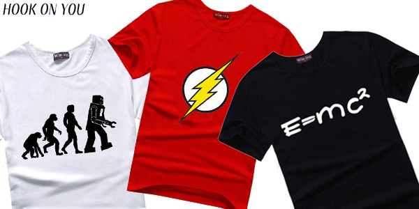 Camisetas de The Big Bang Theory baratas