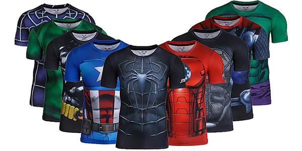 Camisetas de compresión Superhéroes