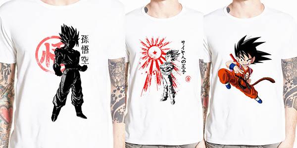 Camisetas de manga corta de Dragon Ball