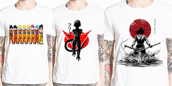 Camisetas de manga corta Dragon Ball en AliExpress