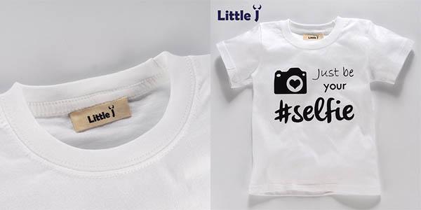 Camisetas de manga corta baratas para niñas