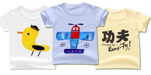 Camisetas para niños y niñas pequeños de algodón en AliExpress