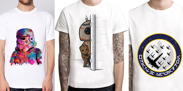 Camisetas de Star Wars baratas