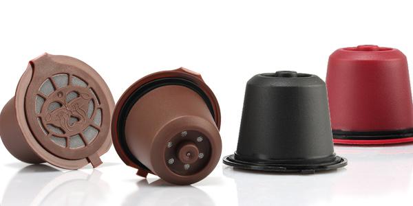 Cápsulas reutilizables compatibles con máquinas Nespresso