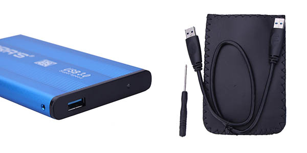 Carcasa USB 3.0 para disco duro barata