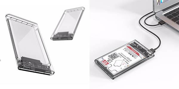 Carcasa USB 3.0 para discos duros