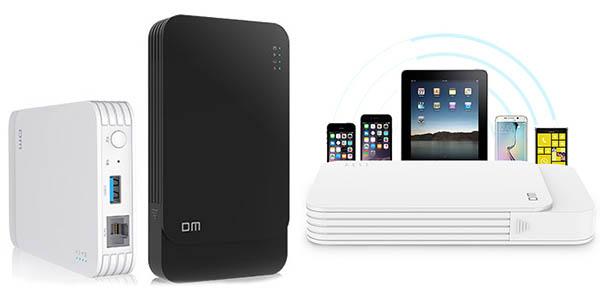 Carcasa DM WFD027 WiFi y USB 3.0