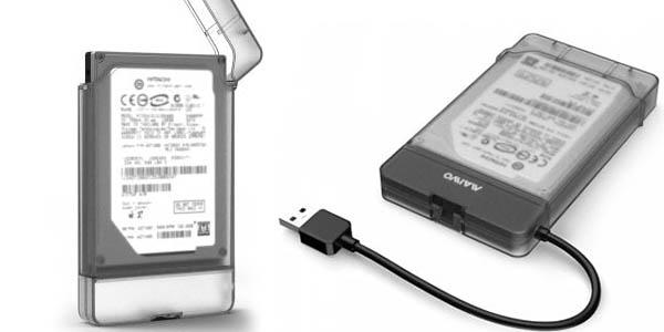"""Carcasa USB 3.0 Maiwo K104 para discos duros de 2,5"""""""