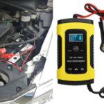 Cargador de Batería coche por 9,90€ de 12V y 6A barato en BangGood