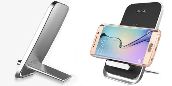 Cargador Qi Vinsic W6 para smartphones