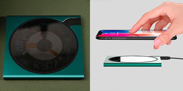 Cargador inalámbrico Qi Xiaomi Mijia barato