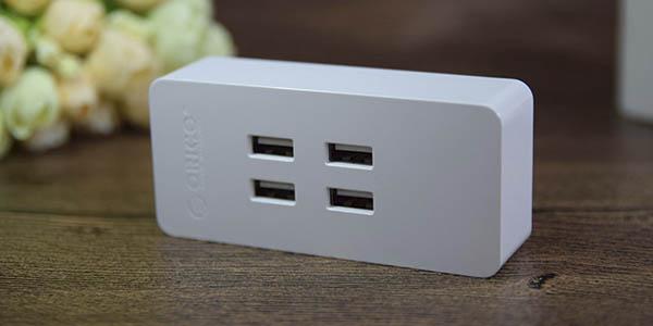 Cargador USB Orico barato