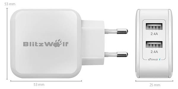 Cargador BlitzWolf BW-S2 barato