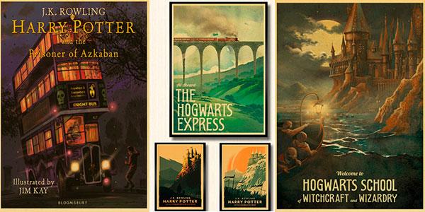 Chollo Carteles de Harry Potter