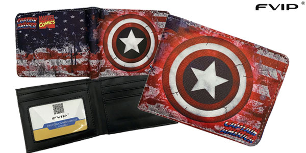 Cartera billetera de Superhéroes Marvel o DC barata en AliExpress