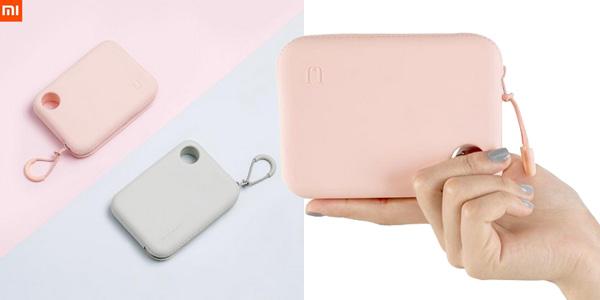 Bolsa de mano Xiaomi de silicona para cables, cargadores y accesorios barata en AliExpress