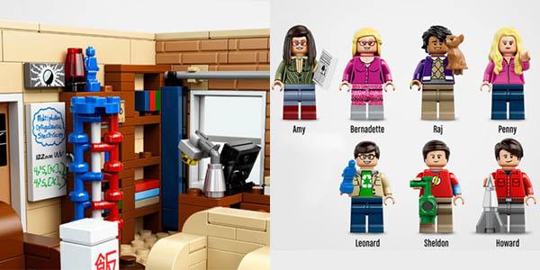 Set The Big Bang Theory tipo LEGO en AliEXpress
