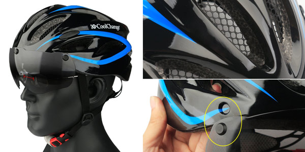 Casco de ciclismo unisex CoolChange chollo en AliExpress