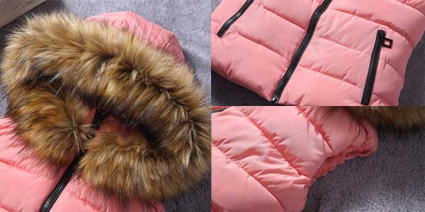 Chaleco para mujer con capucha Tengo barato