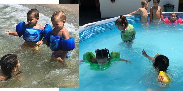 Chaleco flotador infantil para el agua chollazo en AliExpress