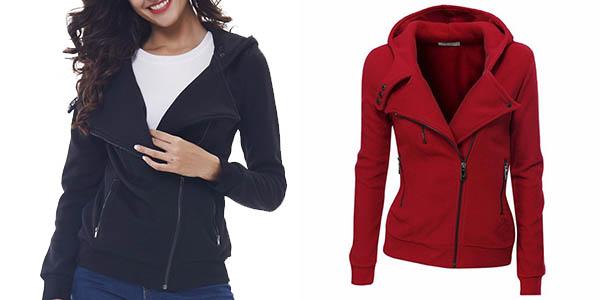 mejor coleccion la mejor calidad para precio al por mayor Chollo chaqueta polar con capucha para mujer por sólo 12,63 ...
