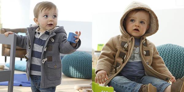 Chaqueta de invierno con capucha para niños