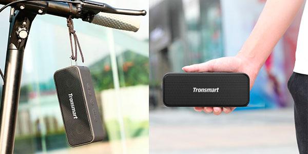 Chollo Altavoz inalámbrico Tronsmart Element T2 Plus de 20 W con Bluetooth 5.0