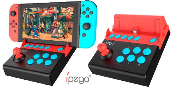 Arcade stick iPega PG-9136 para Switch en oferta