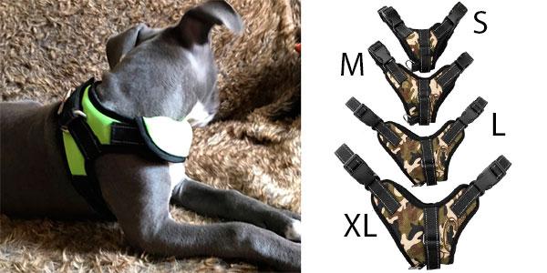 Chollo Arnés para perros de tipo K9 en varios modelos y tallas